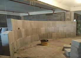 酒店轻质隔墙砖施工案例