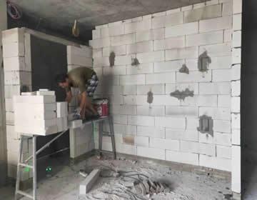 混凝土砖施工