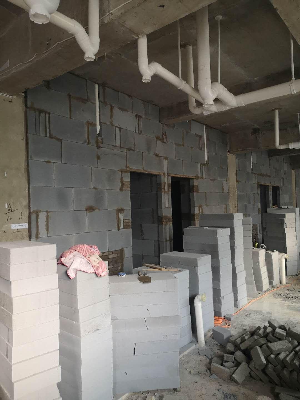 加气混凝土砖施工